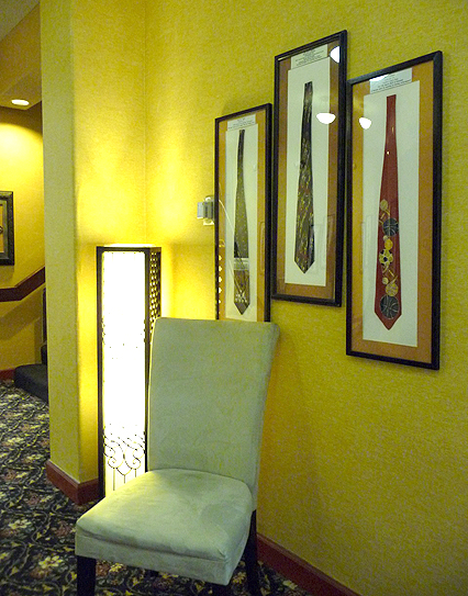 Ties in the Quality Inn and Conference Center