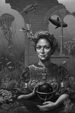 Painting by Madeline von Foerster