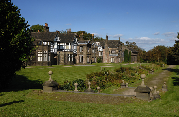 Smithills Hall, part of the Museum of Bolton, is set on the edge of the West Pennine Moors and is open to the public