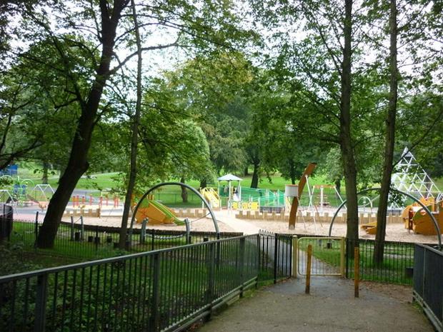 Queens Park, Bolton (photo: Ian S, source)