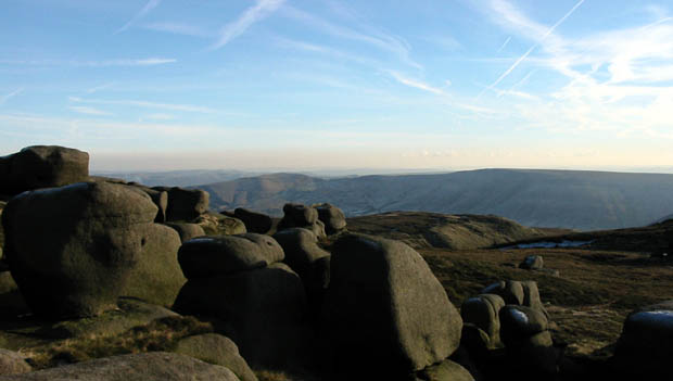 The Woolpacks rock formation, Peak District, Yorkshire (Photo © Michael Hohl)