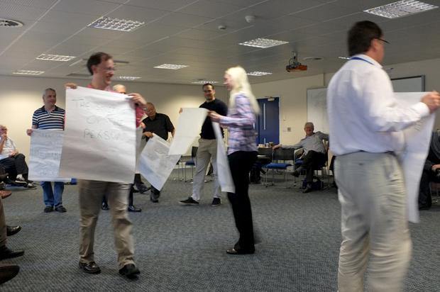 A group presentation