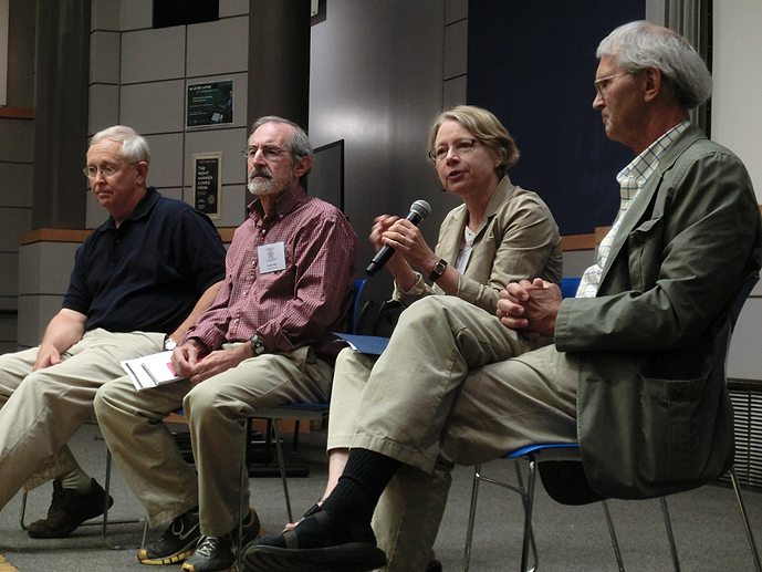 Larry Richards, Frederick Steier, Jane Jorgenson and Paul Schroeder