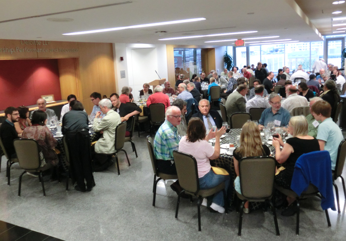 The 2014 ASC conference dinner at the School of Business at The George Washington University